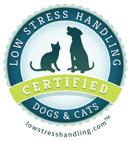 Oxford Veterinary Hospital -  We are a Low Stress Handling Certified practice!